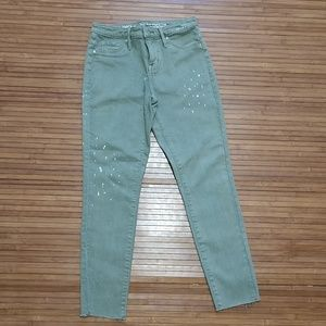 Mossimo Supply Co. Jeans - Green cropped jeans